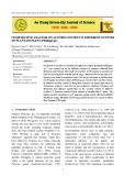 Comparative analysis on aucubin content in different ecotyes of plantain plant (Plantago sp.)