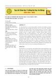 Xây dựng website hỗ trợ dạy học vật lí đại cương tại trường Đại học An Giang