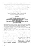Xác định hằng số cân bằng của axit photphoric từ dữ liệu ph thực nghiệm bằng phương pháp bình phương tối thiểu: Phần 2