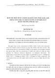 Bước đầu phân tích và đánh giá hàm lượng Pb(ii), Zn(ii), Cu(ii) trong nước thải của một số xưởng tuyển khoáng ở huyện chợ Đồn, tỉnh Bắc Kạn