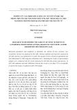 Nghiên cứu xác định hàm lượng các nguyên tố độc hại trong một số loại nấm Linh Chi ở vùng Bắc Trung Bộ  của Việt Nam bằng phương pháp quang phổ hấp thụ nguyên tử