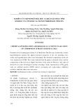 Nghiên cứu thành phần hóa hoc̣ và khảo sát hoaṭ tính sinh học của tinh dầu sả chanh cymbopogon citratus