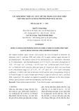 Xác định đồng thời các chất chỉ thị trong giấy phát hiện chất độc quân sự bằng phương pháp trắc quang