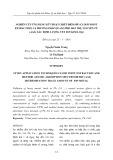 Nghiên cứu ứng dụng kỹ thuật chiết điểm mù (Cloud point extraction) và phương pháp quang phổ hấp thụ nguyên tử (AAS) xác định lượng vết ion kim loại