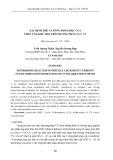Xác định thế và dõng động học của phản ứng khử DDT trên đường phân cực CV