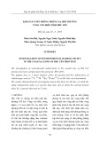 Khảo sát nền phông phóng xạ môi trường vùng ven biển tỉnh Phú Yên