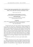 Ứng dụng phần mềm AIQS-DB phân tích các hợp chất hữu cơ trong nước thải chăn nuôi lợn tại tỉnh Bắc Giang