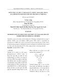 Phân tích cấu trúc và độ sạch của thuốc tadalafil trong quá trình tổng hợp bằng phương pháp hóa lý hiện đại