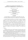 Nghiên cứu mạ crom từ dung dịch phức Cr iii 2 - khảo sát quá trình khử phức Cr3+  bằng phân cực CV