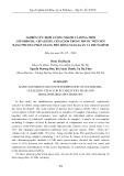 Nghiên cứu định lượng nhanh và đồng thời cefadroxil, cefalexin, cefaclor trong thuốc viên nén bằng phương pháp quang phổ hồng ngoại gần và trung bình