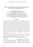 Nghiên cứu thiết kế phần mềm bo mạch điện tử đo nhanh COD bằng phương pháp phổ hấp thụ UV