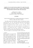 Nghiên cứu sự tạo phức đơn, đa phối tử của một số nguyên tố đất hiếm (Pr, Nd, Sm) với l-alanin và axetyl axeton trong dung dịch bằng phương pháp chuẩn độ đo pH
