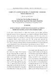 Nghiên cứu sự hình thành pha của hệ đôlômit – hydroxid nhôm ở nhiệt độ cao