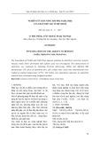 Nghiên cứu khả năng hấp phụ Fe(III), Ni(II) của than chế tạo từ bẹ chuối
