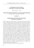 Xác định hàm lượng PeCB trong chất thải của lõ đốt công nghiệp
