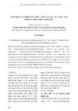 Tổng hợp và nghiên cứu phức chất của Cu2+, Ni2+ và Zn2+   với phối tử chứa nhân antracen