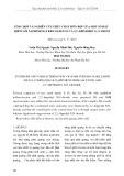 Tổng hợp và nghiên cứu phức chất hỗn hợp của một số đất hiếm với naphthoyltrifloaxeton và 2,2' -dipyridyl N,N'-dioxi