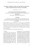 Tổng hợp và nghiên cứu phức chất hốn hợp của một số đất hiếm với naphthoyltrifloaxeton và bis-pyridin