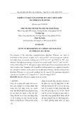 Nghiên cứu khả năng hấp phụ ion chì và đồng trên tảo spirulina platensis