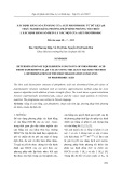 Xác định hằng số cân bằng của axit photphoric từ dữ liệu ph thực nghiệm bằng phương pháp bình phương tối thiểu: Phần 1