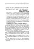 Nghiên cứu quan điểm chính trị, mâu thuẫn, bối cảnh của Mạc Thiên Tứ và Phraya taksin