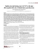 Nghiên cứu ảnh hưởng của tỷ lệ N/P và độ mặn đến sự phát triển của vi khuẩn lam (cyanobacteria)