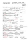 Đề kiểm tra HK1 môn Hóa học lớp 12 năm 2018-2019 - THPT Lương Ngọc Quyến - Mã đề 021
