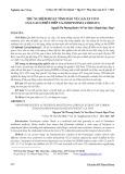 Thử nghiệm hoạt tính bảo vệ gan ex vivo của cao chiết diếp cá houttuynia cordata