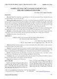 Nghiên cứu bào chế và đánh giá độ hòa tan viên nén atorvastatin 10 mg