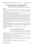 Tổng hợp và khảo sát tác dụng kháng khuẩn một số dẫn chất 1,4-naphthoquinon