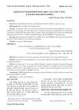 Khảo sát thành phần hóa học cây lược vàng (callisia fragrans lindl.)