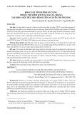 Khảo sát tình hình sử dụng thuốc trị viêm loét dạ dày tá tràng tại khoa nội tiêu hóa Bệnh viện Nguyễn Tri Phương
