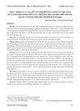 Thực trạng và các yếu tố ảnh hưởng hành vi thủ dâm của nam học sinh cấp 3 các trường trung học phổ thông quận 5 Thành phố Hồ Chí Minh năm 2010