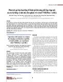 Phân tích quỹ đạo hoạt động để đánh giá khả năng phối hợp chụp ảnh của các hệ thống vệ tinh nhỏ, thử nghiệm với vệ tinh VNREDSat-1 và BKA