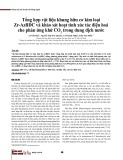 Tổng hợp vật liệu khung hữu cơ kim loại Zr-AzBDC và khảo sát hoạt tính xúc tác điện hoá cho phản ứng khử CO2 trong dung dịch nước