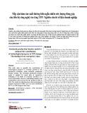 Tiếp cận hàm sản xuất đường biên ngẫu nhiên ước lượng đóng góp của tiến bộ công nghệ vào tăng TFP: Nghiên cứu từ số liệu doanh nghiệp