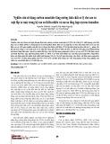 Nghiên cứu sử dụng carbon nanotube tăng cường tính chất cơ lý cho cao su mặt lốp xe máy trong hệ cao su thiên nhiên và cao su tổng hợp styrene-butadien