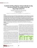 Xác định tần suất kiểu gen đồng hợp và dị hợp của kiểu hình xoáy lưng trên chó xoáy Phú Quốc (Canis familiaris) tại Việt Nam bằng kỹ thuật real-time PCR