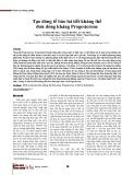 Tạo dòng tế bào lai tiết kháng thể đơn dòng kháng Progesterone