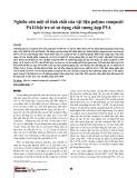 Nghiên cứu một số tính chất của vật liệu polyme compozit PA11/bột tre có sử dụng chất tương hợp PVA