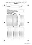 Đề kiểm tra HK1 môn Hóa học lớp 12 năm 2018-2019 - THPT Nguyễn Trãi, Hà Nội - Mã đề 178