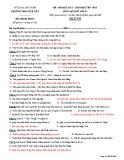 Đề thi HK2 môn Lịch sử lớp 11 năm 2017-2018 - THPT Quế Võ 1 - Mã đề 988