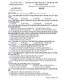 Đề KSCL môn Lịch sử lớp 10 năm 2017-2018 lần 2 - THPT Quế Võ 1 - Mã đề 793