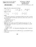 Đề thi kiểm soát chất lượng môn toán lớp 7 (Có đáp án)