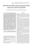 Phát hiện thời điểm chuyển trạng thái từ thức sang ngủ ở người trưởng thành