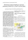 Petroleum system modeling in cenozoic sediments, Block 05-1a, Nam Con Son Basin