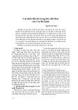 Cái nhìn tiến bộ trong thơ chữ Hán của Cao Bá Quát - Nguyễn Thị Tính