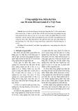 Công nghiệp hóa, hiện đại hóa sau 30 năm đổi mới kinh tế ở Việt Nam - Đỗ Hoài Nam