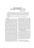 Đặc trưng ngôn từ trong nhật ký Nguyễn Huy Tưởng - Hoàng Thị Duyên