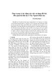 Thực trạng và tác động của việc sử dụng đất đai đến quan hệ dân tộc ở Tây Nguyên hiện nay - Trần Hồng Hạnh
